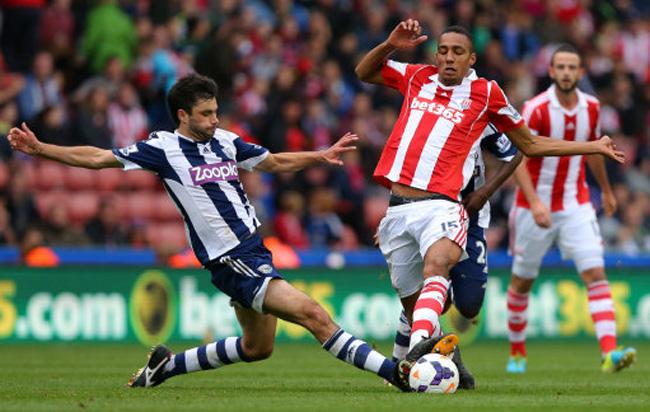 Soccer - Barclays Premier League - Stoke City v West Bromwich Albion - Britannia Stadium
