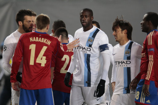 Russia Soccer Man City Toure Racism