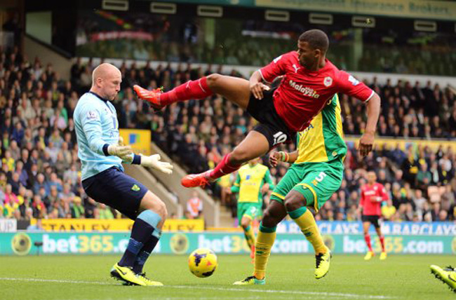 Soccer - Barclays Premier League - Norwich City v Cardiff City - Carrow Road
