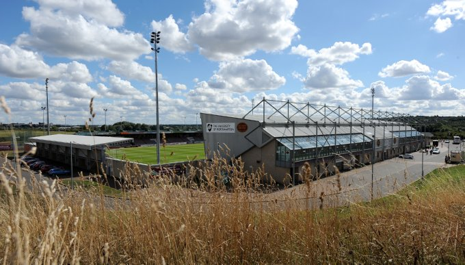 Soccer - Sky Bet League 2 - Northampton Town v Scunthorpe United - Sixfields Stadium