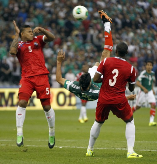 WCup Mexico Panama WCup Soccer