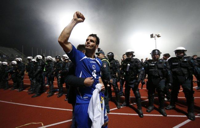 Lithuania Bosnia WCup Soccer