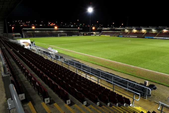 Soccer - Coca-Cola Football League Two - Northampton Town v Aldershot Town - Sixfields Stadium