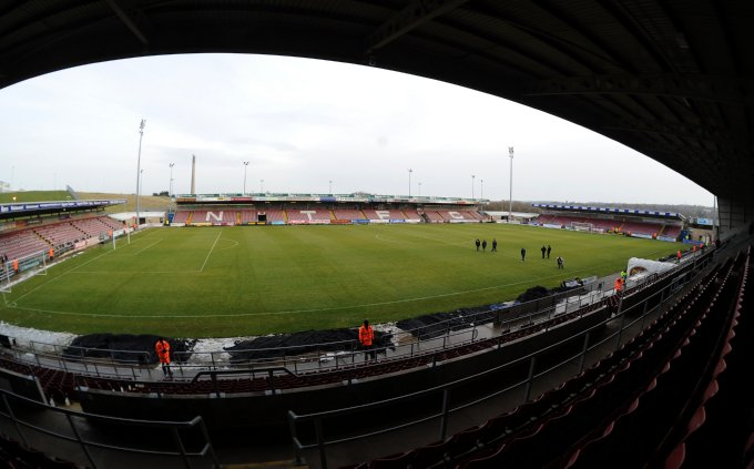 Soccer - npower Football League Two - Northampton Town v Stockport County - Sixfields Stadium