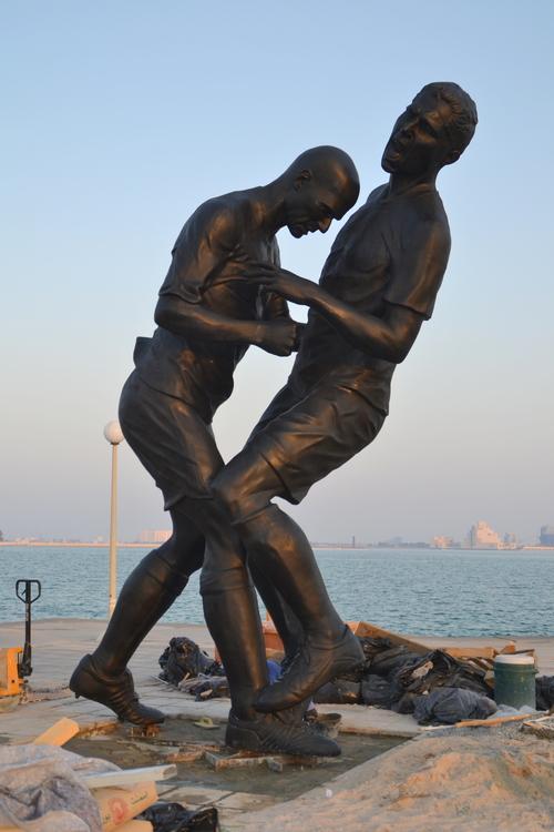 zidane-statue-qatar