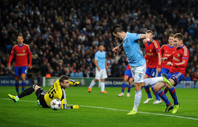 Soccer - UEFA Champions League - Group D - Manchester City v CSKA Moscow - Etihad Stadium