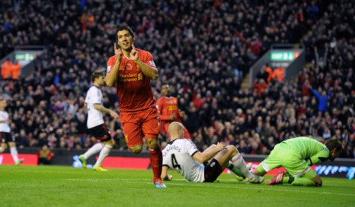Soccer - Barclays Premier League - Liverpool v Fulham - Anfield