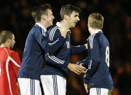 Soccer - UEFA European Championship Qualifier - Group 3 - Scotland U21 v Georgia U21 - St Mirren Park