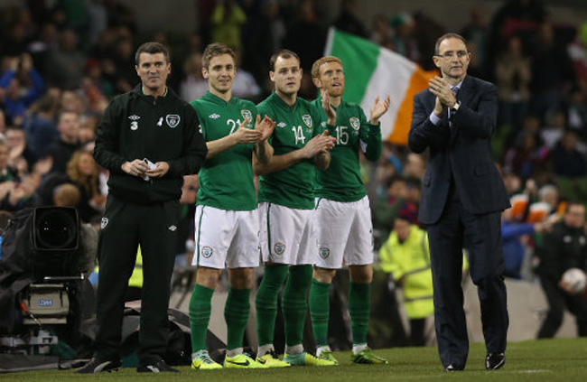 Soccer - International Friendly - Republic of Ireland v Latvia - Aviva Stadium