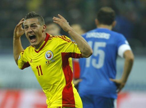 Romania Greece WCup Soccer