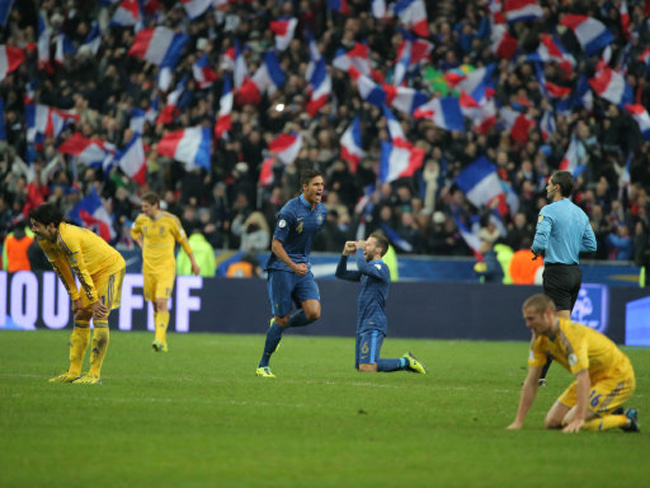 France Ukraine Wcup Soccer