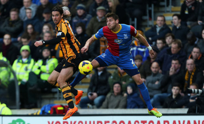 Soccer - Barclays Premier League - Hull City v Crystal Palace - KC Stadium