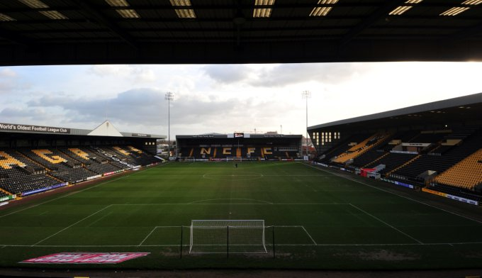 Soccer - npower Football League One - Notts County v Milton Keynes Dons - Meadow Lane