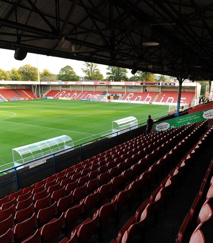 Soccer - npower Football League Two - Cheltenham Town v Morecambe - Abbey Business Stadium