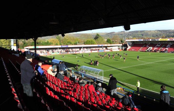 Soccer - npower Football League Two - Cheltenham Town v Burton Albion - Abbey Business Stadium