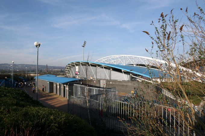 Rugby League - Engage Super League - Huddersfield Giants v Leeds Rhinos - Galpharm Stadium
