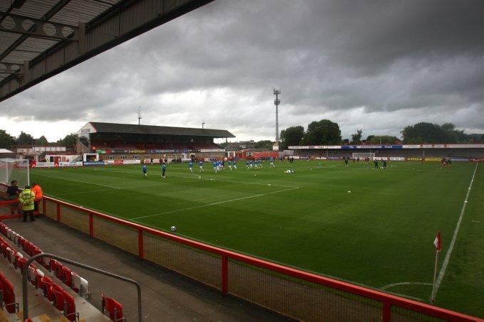 Soccer - Pre Season Friendly - Cheltenham v Bristol Rovers - The Abbey Business Stadium
