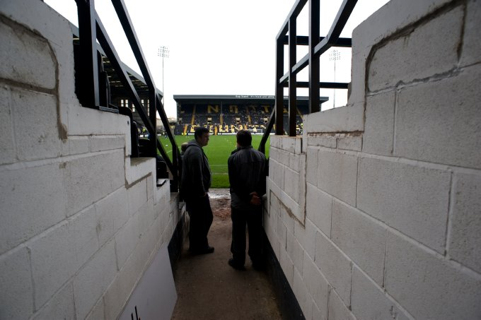 Soccer - Coca-Cola Football League Two - Notts County v Shrewsbury Town - Meadow Lane