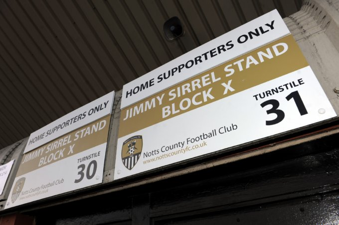 Soccer - npower Football League One - Notts County v Southampton - Meadow Lane