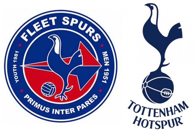 Tottenham Order Non League Club Fleet Spurs Fc To Change Their Cockerel Badge Who Ate All The Pies