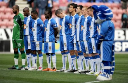 Soccer - Barclays Premier League - Wigan Athletic v Birmingham City - DW Stadium