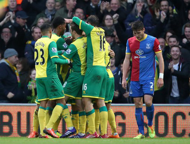 Soccer - Barclays Premier League - Norwich City v Crystal Palace - Carrow Road