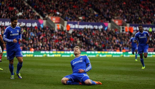Soccer - Barclays Premier League - Stoke City v Chelsea - Britannia Stadium