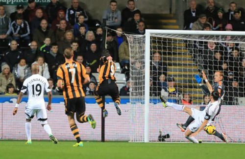 Soccer - Barclays Premier League - Swansea City v Hull City - Liberty Stadium