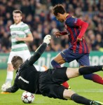 Champions League: Barcelona 6-1 Celtic – Neymar Nets Hat-Trick As Barca Batter Bhoys (Photos & Highlights)