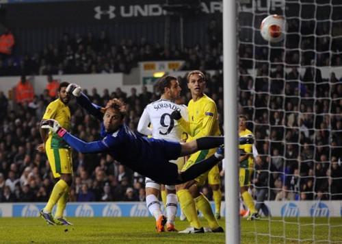 Soccer - UEFA Europa League - Group K - Tottenham Hotspur v Anzhi Makhachkala - White Hart Lane