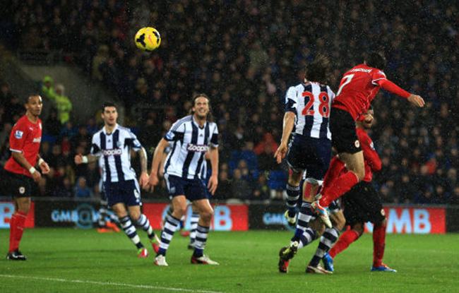 Soccer - Barclays Premier League - Cardiff City v West Bromwich Albion - Cardiff City Stadium