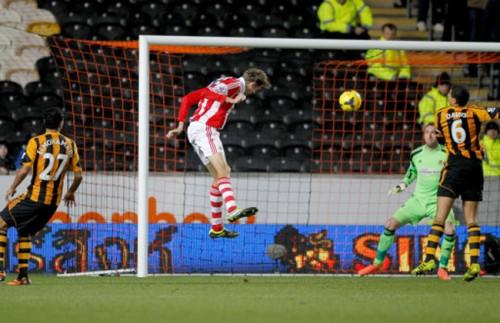 Soccer - Barclays Premier League - Hull City v Stoke City - KC Stadium