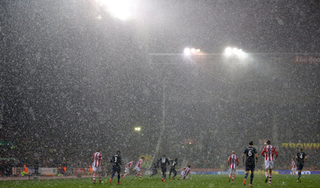 Soccer - Capital One Cup - Quarter Final - Stoke City v Manchester United - Britannia Stadium