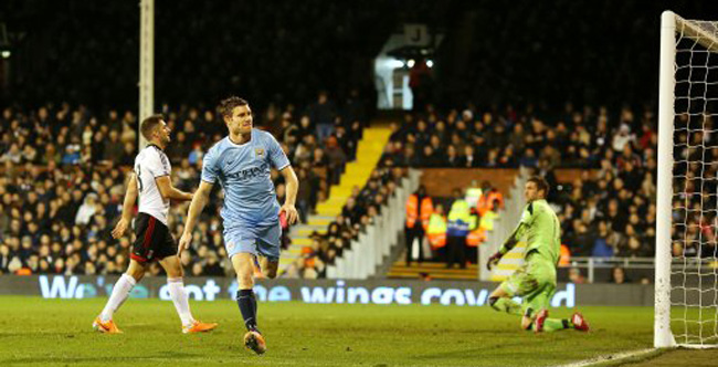 Soccer - Barclays Premier League - Fulham v Manchester City - Craven Cottage