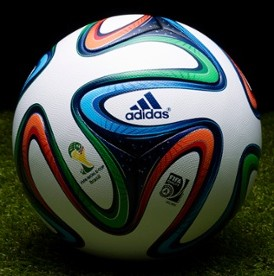 Adidas Give Free 'Brazuca' Football To All Brazilian Babies Born On Launch Day Of 2014 World Cup Matchball