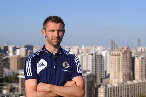 Soccer - FIFA World Cup Qualifying - Group F - Azerbaijan v Northern Ireland - Northern Ireland Press Conference - Hilton Hotel