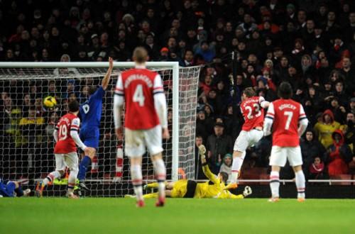 Soccer - Barclays Premier League - Arsenal v Cardiff City - Emirates Stadium