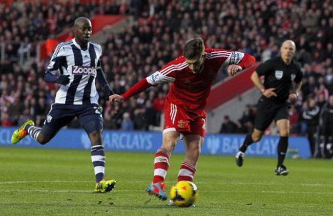 Soccer - Barclays Premier League - Southampton v West Bromwich Albion - St Mary's