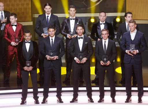 Switzerland Soccer FIFA World Player Award