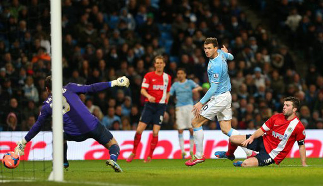 Soccer - FA Cup - Third Round - Replay - Manchester City v Blackburn Rovers - Ewood Park