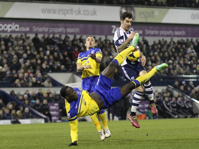 Soccer - Barclays Premier League - West Bromwich Albion v Everton - The Hawthorns