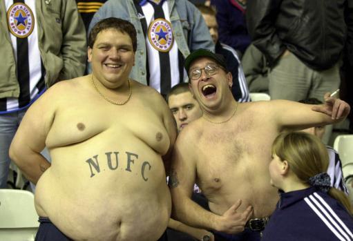 Birmingham v Newcastle Fans