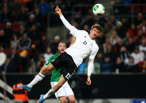 Soccer - FIFA World Cup Qualifying - Group C - Germany v Republic of Ireland - Rhein Energie Stadion