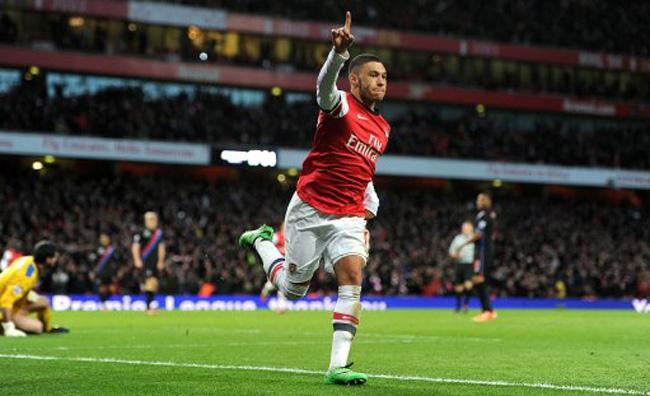 Soccer - Barclays Premier League - Arsenal v Crystal Palace - Emirates Stadium