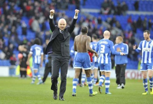 Soccer - FA Cup - Fifth Round - Cardiff City v Wigan Athletic - Cardiff City Stadium