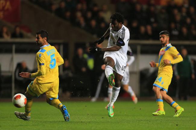 Soccer - UEFA Europa League - Round of 32 - Swansea City v Napoli - Liberty Stadium