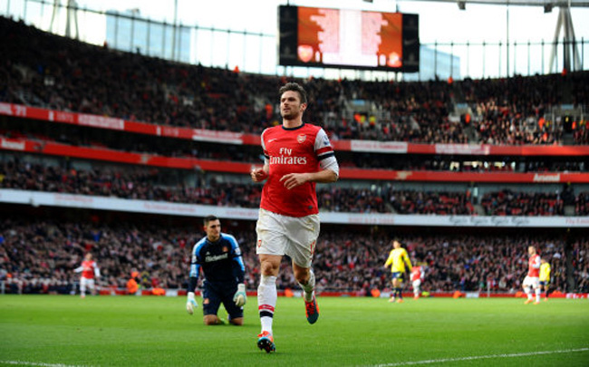 Soccer - Barclays Premier League - Arsenal v Sunderland - Emirates Stadium