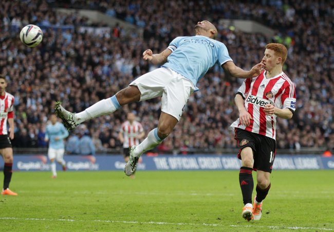 Soccer - Capital One Cup - Final - Manchester City v Sunderland - Wembley Stadium