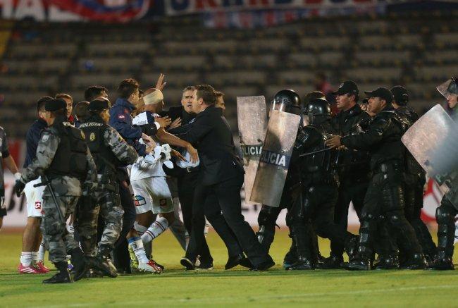 Ecuador Argentina Soccer Copa Libertadores