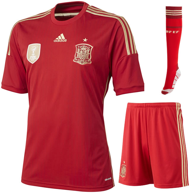 Pies 39 bumper guide to each and every kit being worn at for Spain t shirt football